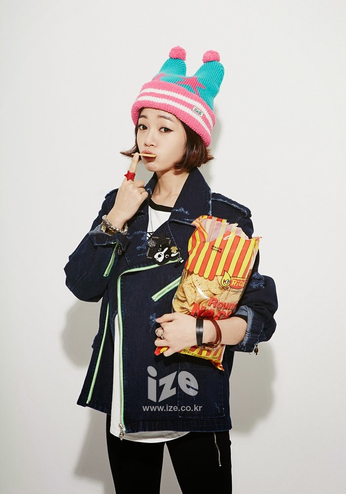 Kim Bo Mi - Ize Magazine January 2014