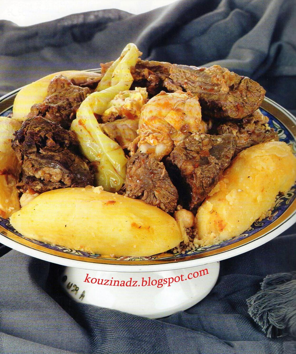 La Cuisine Algerienne: La Cuisine Algérienne: Berboucha بربوشة