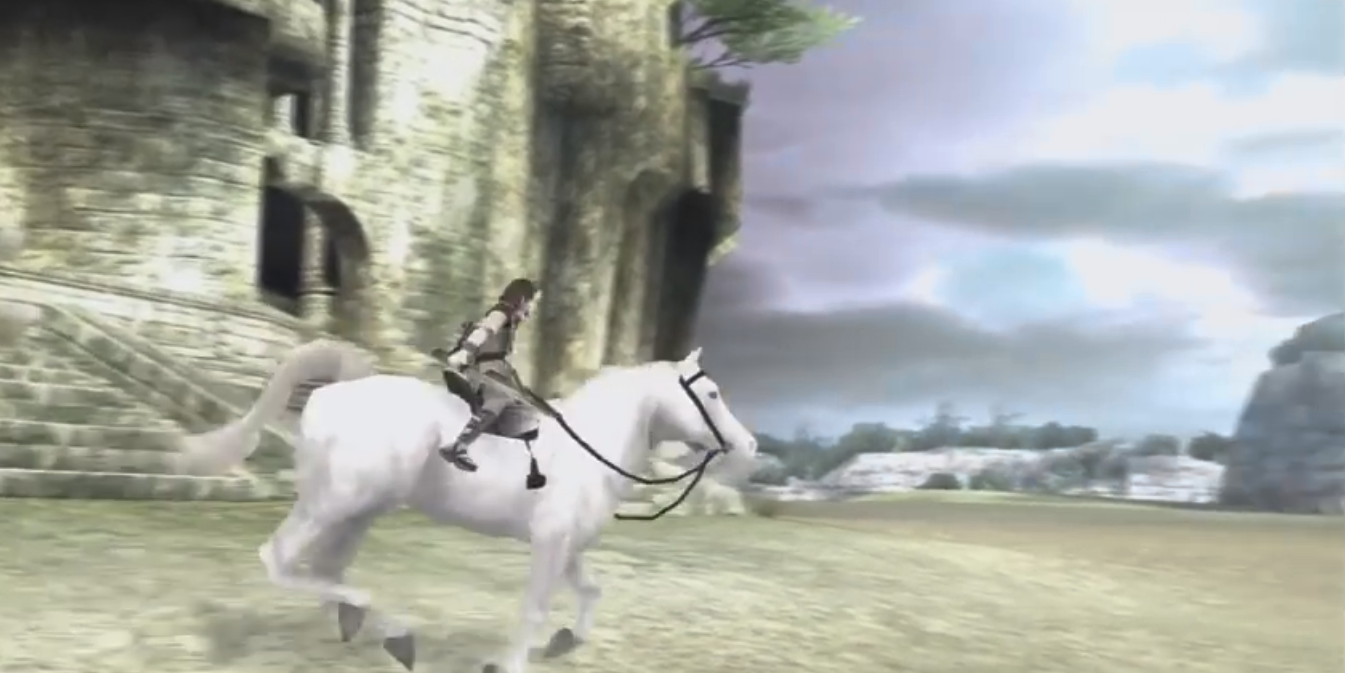 Shadow of the colossus white agro