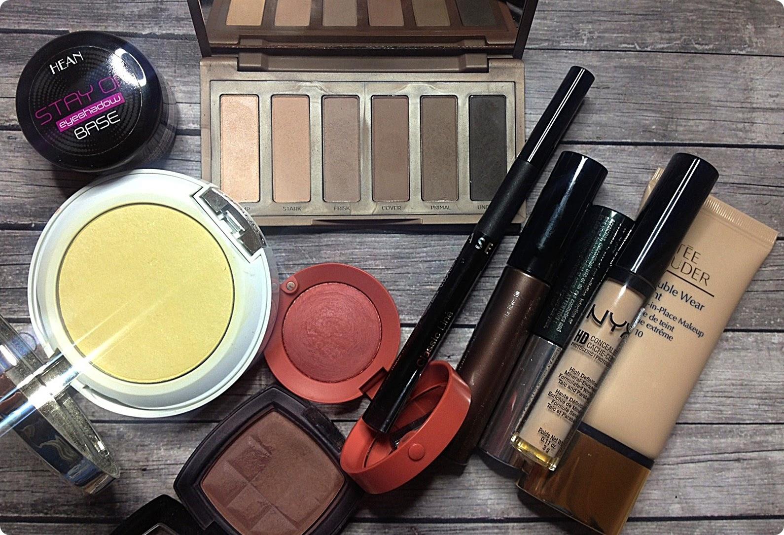 TAG: Ile warta jest Twoja twarz, czyli mój codzienny makijaż