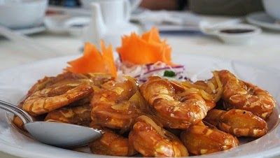 Sweet and Sour Sauce with Prawns (Tôm Sốt Chua Ngọt)1
