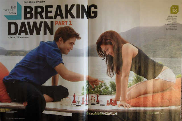 Honeymoon photo of Bella and Edward from Breaking Dawn Part 1