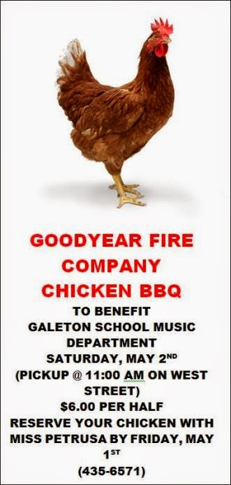5-1 Chicken BBQ Goodyear Fire Company