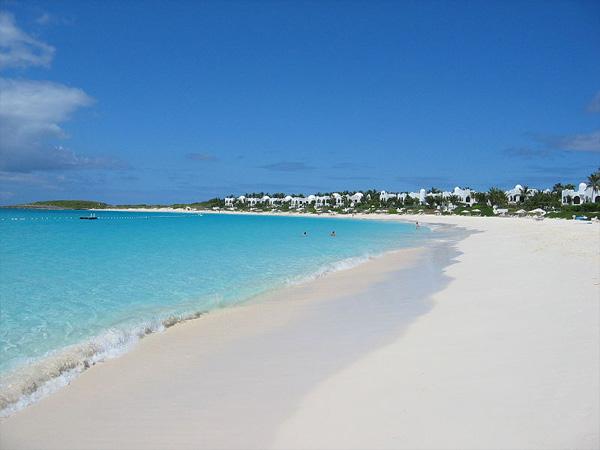 Traumstrand auf der Karibikinsel Anguilla