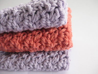 Crochet Patterns With Cotton Yarn : Yarn: Worsted weight Cotton yarn - I used this lovely cotton yarn.
