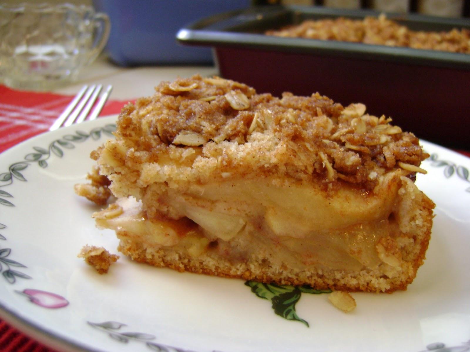 A Sunflower Life: Apple Cinnamon Coffee Cake