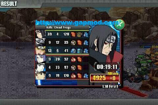 Download Naruto Shippuden Senki v1.18 First Edition 1 Apk