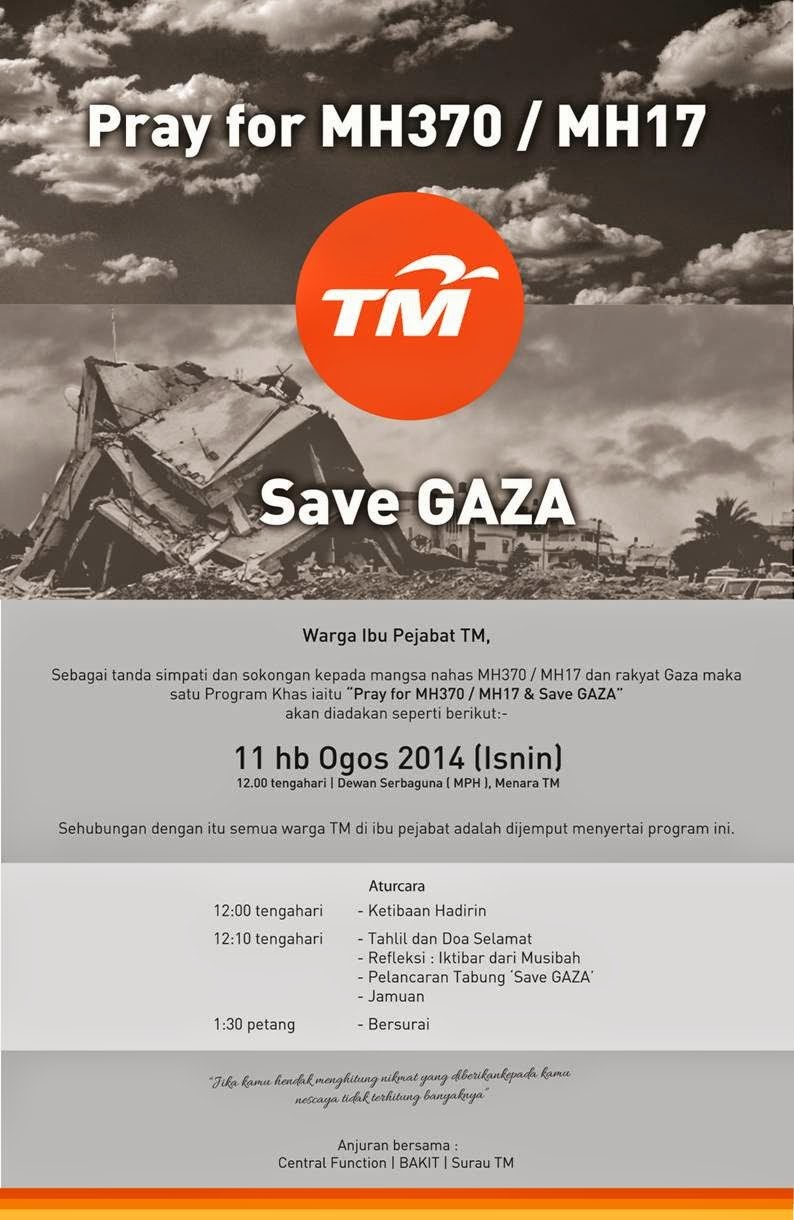 Pray for MH370 and MH17 and Save GAZA 2014