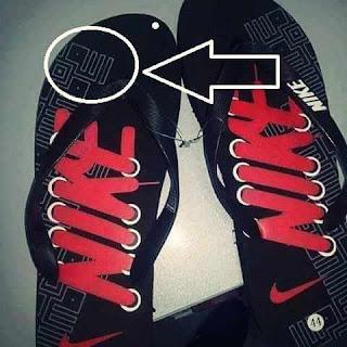Lafadz Allah, Sandal Nike, Kaligrafi, Penghinaan Agama