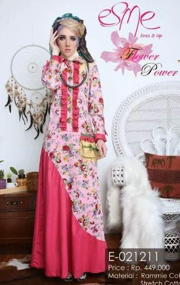 Contoh Baju Pesta Muslim Modern