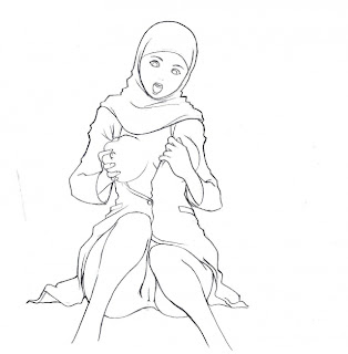 Hijab Porn Animation (4 Images)
