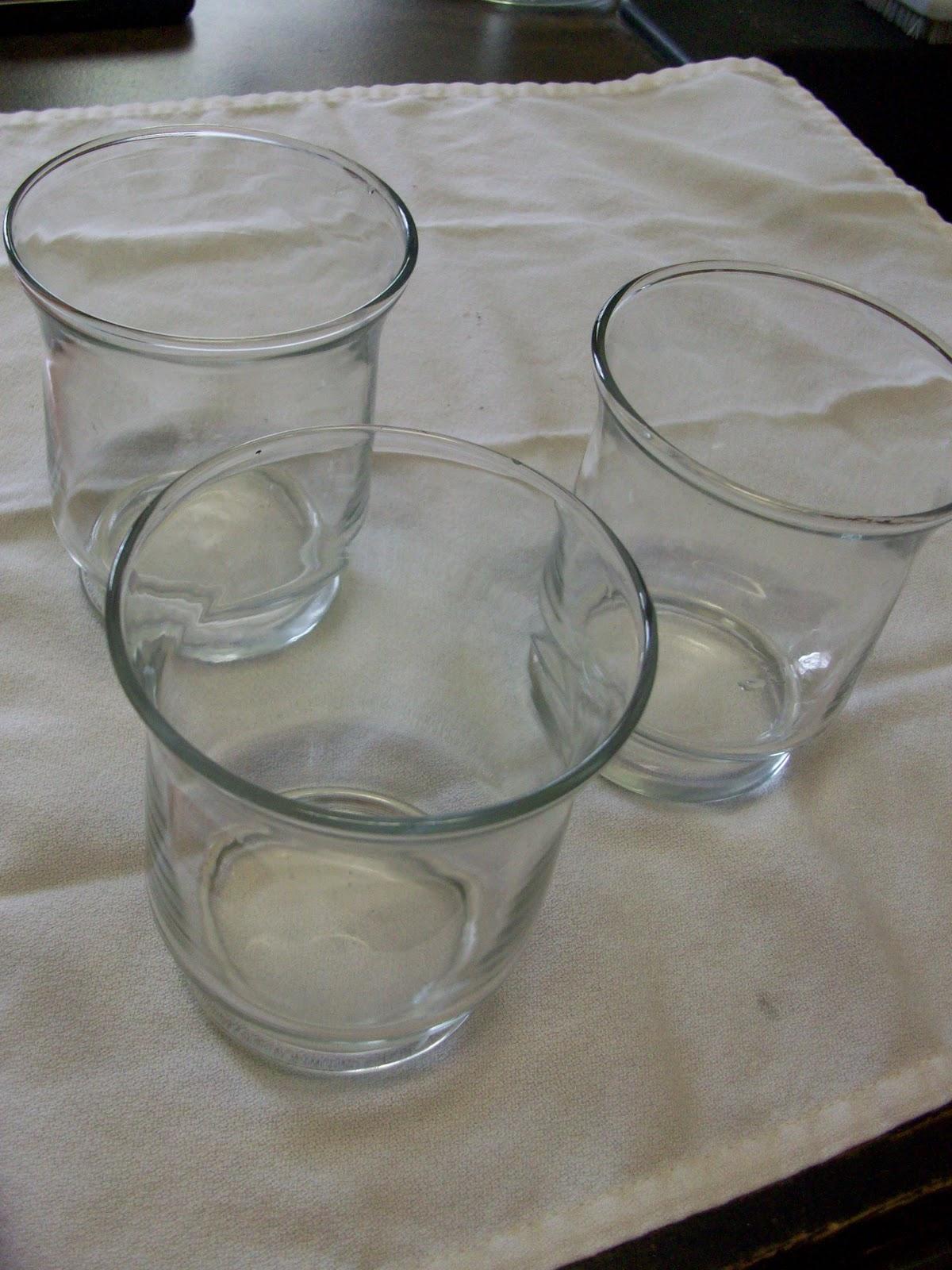 how to make glass look like mercury glass with vinegar
