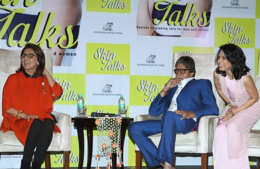 Amitabh Bachchan At Dr Jaishree Sharad Skin Talks Book Launch Event