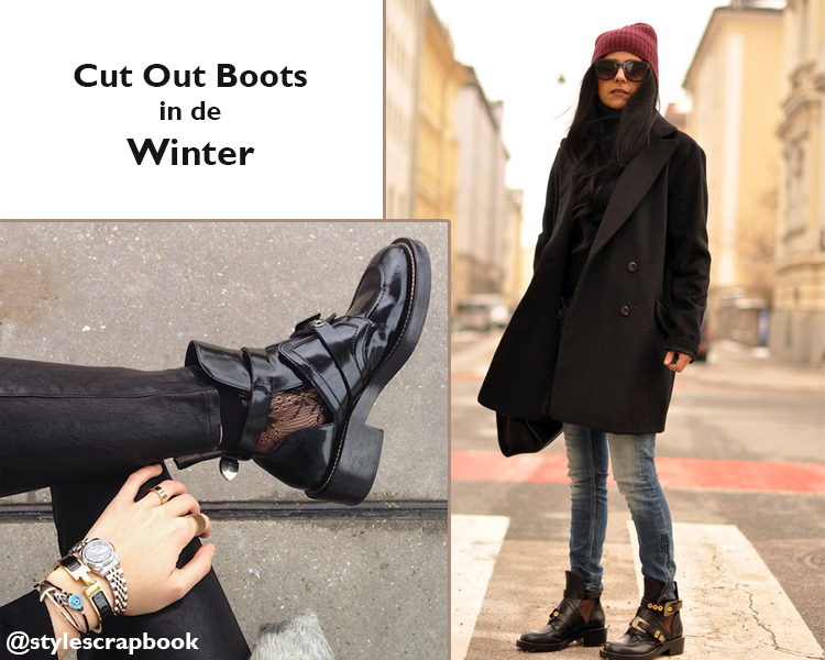 Cut out boots winter