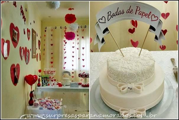 A cortina de corações por cima do voil deu um toque super romântico às bodas!