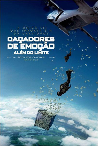 Filme Poster Caçadores de Emoção – Além do Limite TS XviD & RMVB Dublado