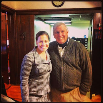 Elise Stefanik With Yankee Great Tommy John