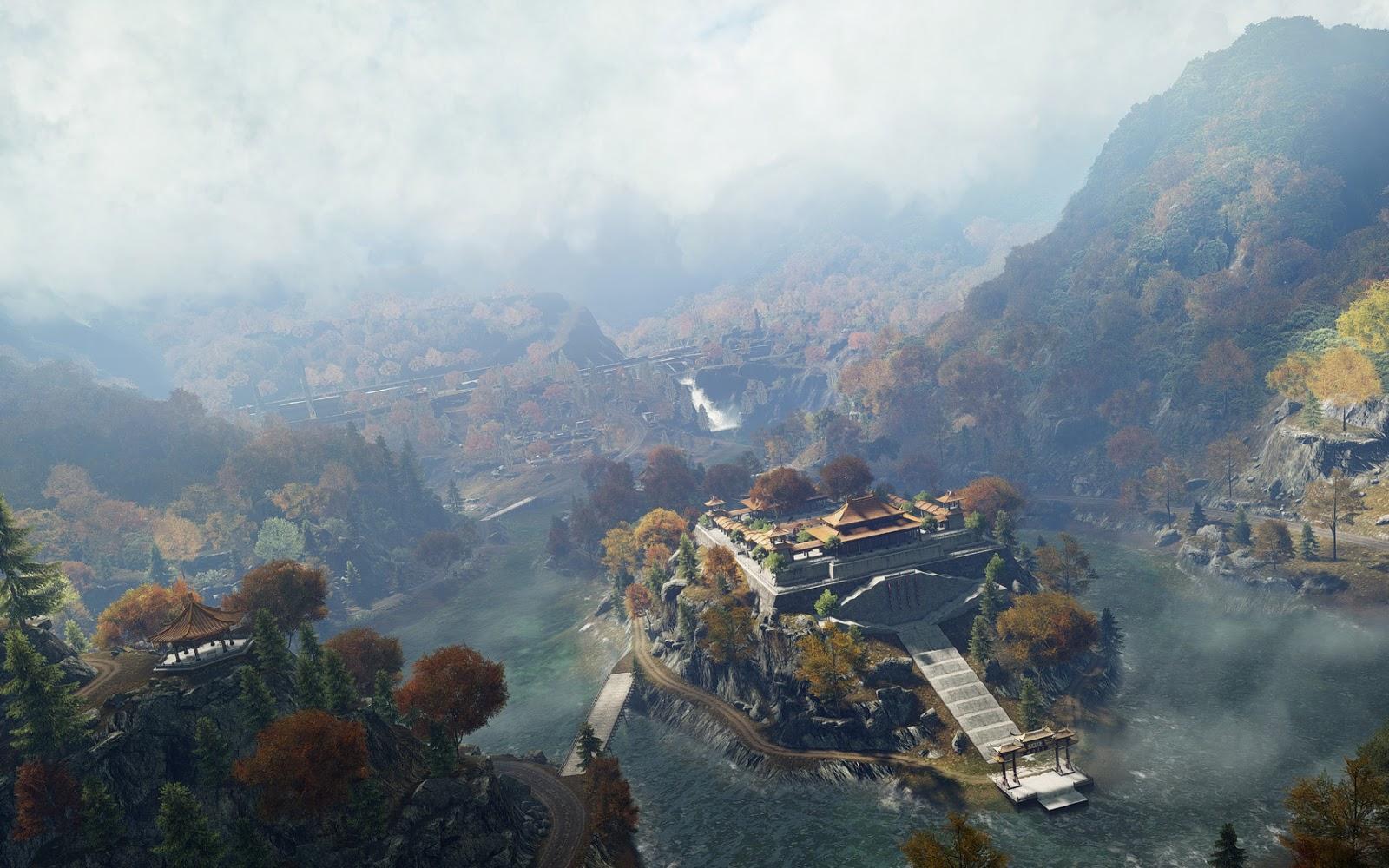 Confira o estado atual do mapa Dragon Valley para Battlefield 4