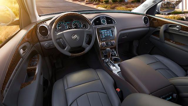 Buick 2013 Enclave interior