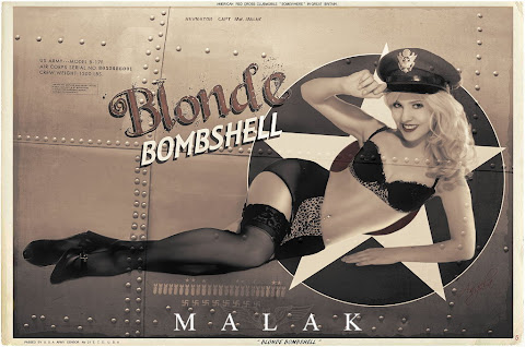 Pin Up Nose Art Style Photography by Michael Malak