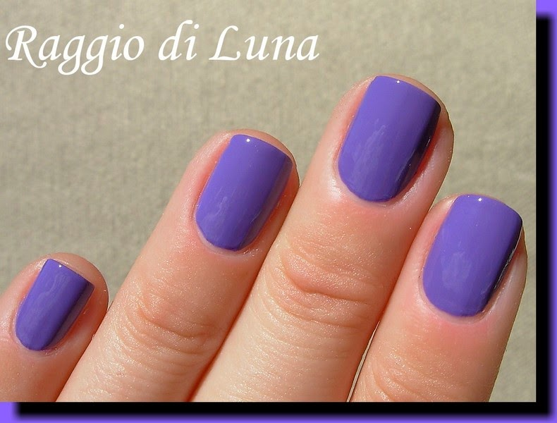 Raggio di Luna Nails: Flormar Neon N09 Purple