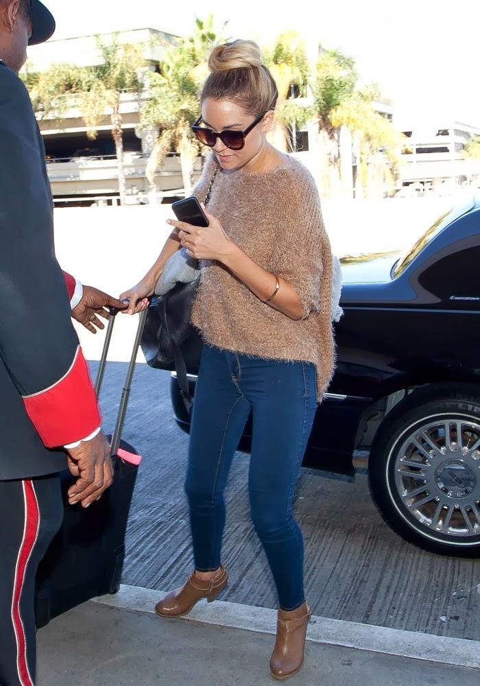 Celeb Diary: Lauren Conrad @ LAX International Airport