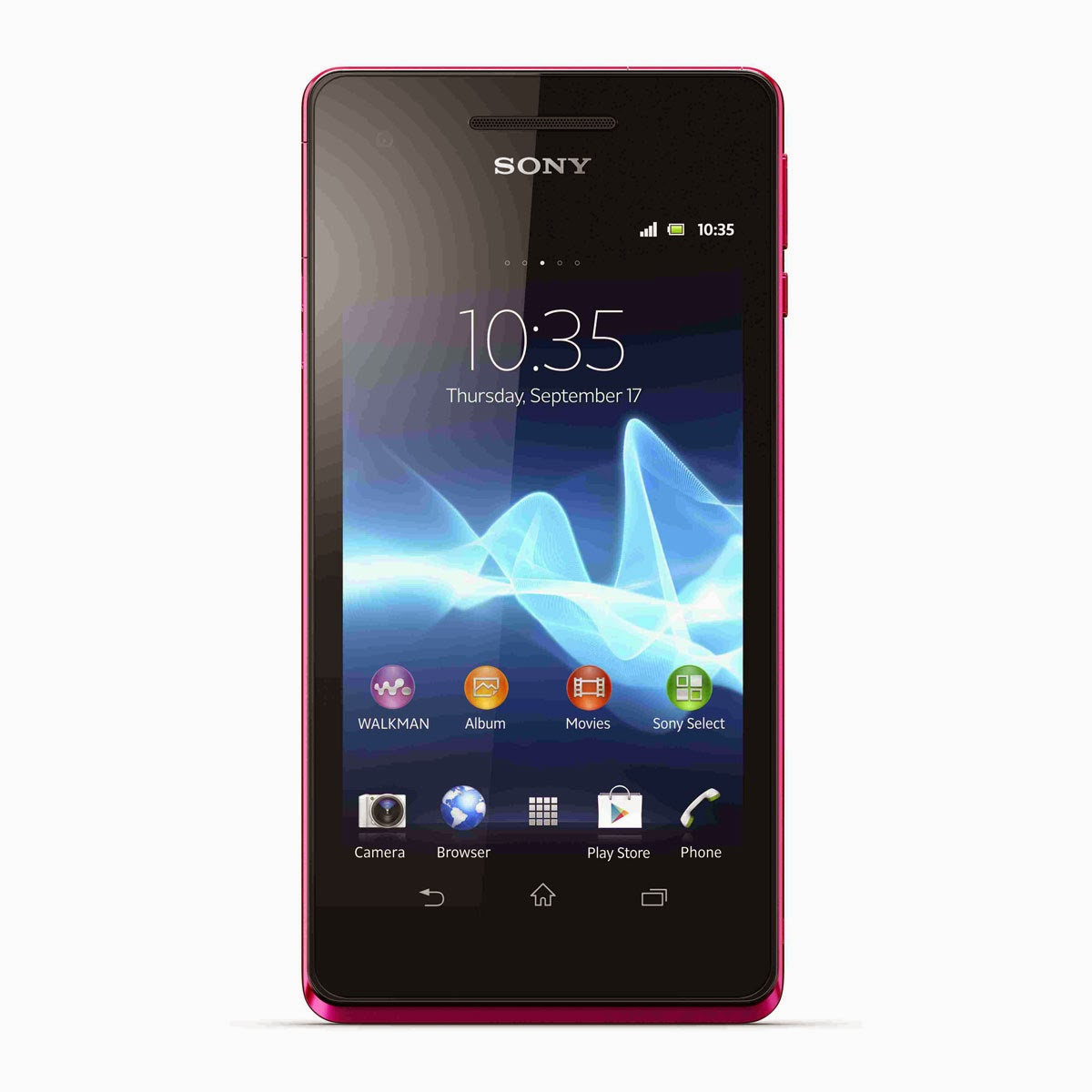 Sony Xperia V Rose 4G Smartphone Résistant