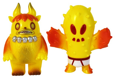 Super7 - Early Morning Garuru by Itokin Park and Sunburnt Yellow Prick by Brian Flynn