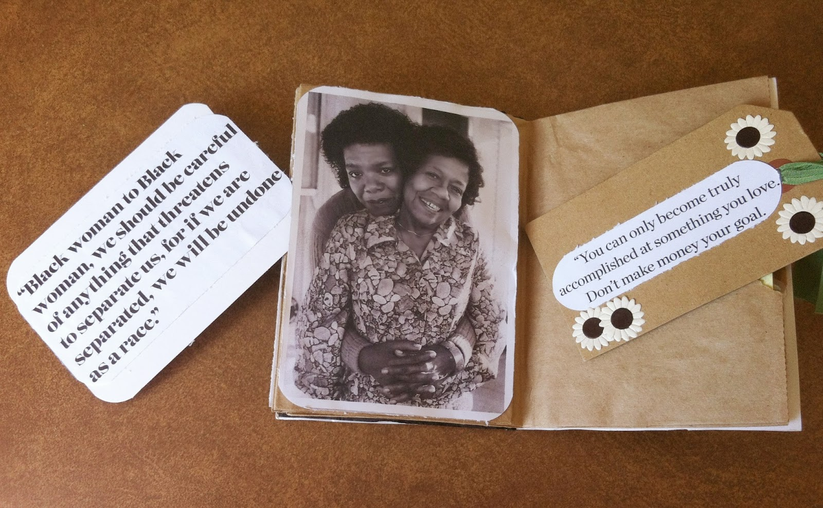 Maya Angelou Paper Bag Book With Inspirational Quotes