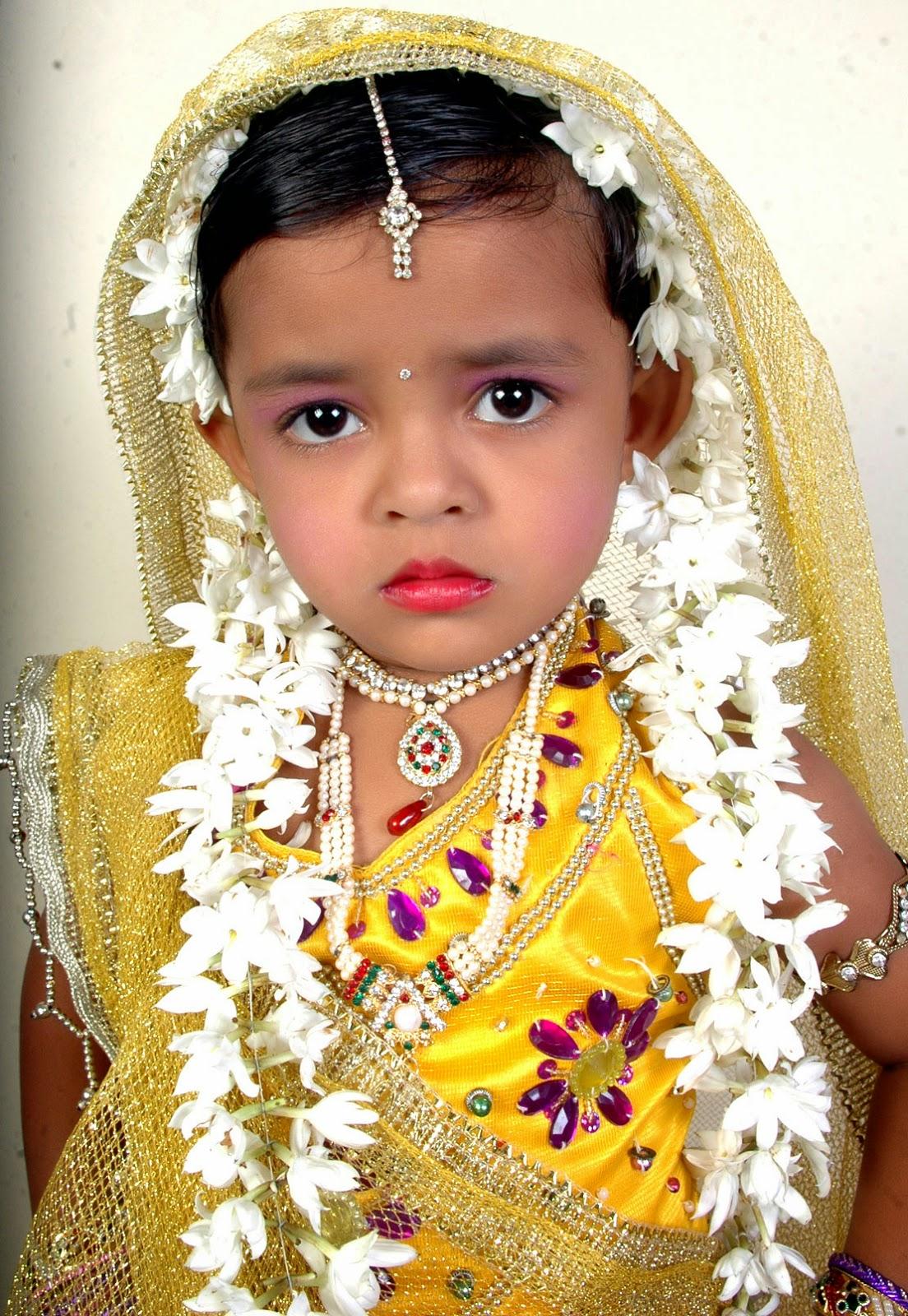 Cute baby girl kid