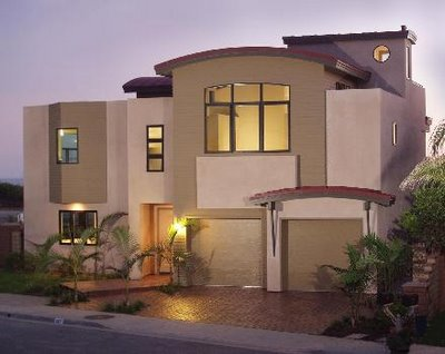 Exterior design house collection modern house plans for Exterior contemporary design