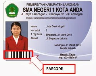 Download Template Kartu Pelajar