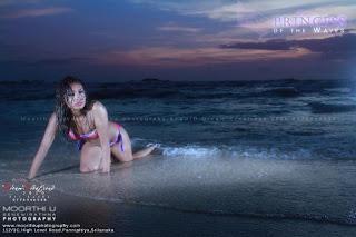 Natasha sri lankan model bikini