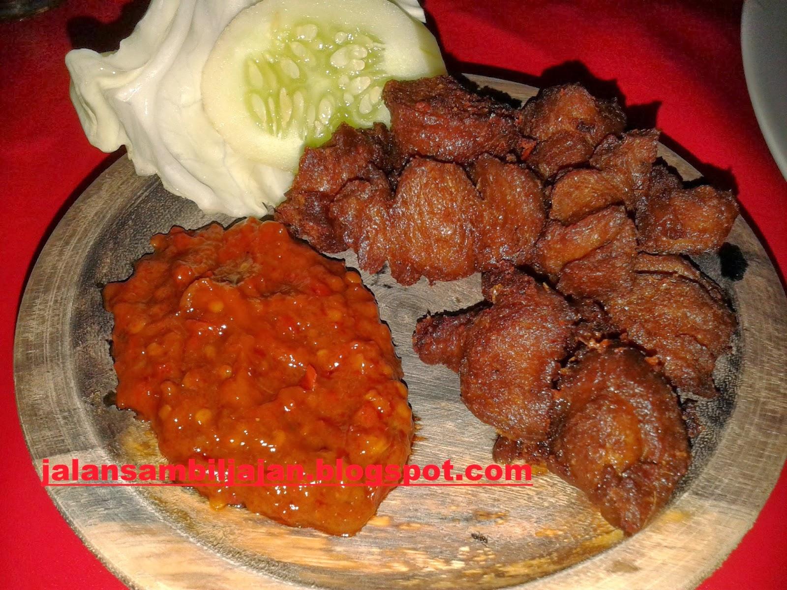 Nasi Empal Jamur Saung Jamur