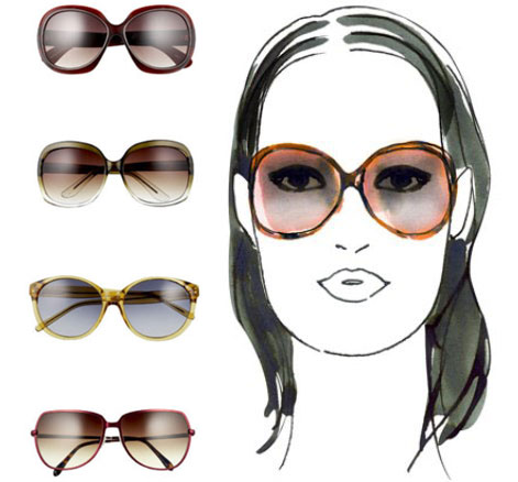 Best Eyeglass Frame For Long Face : The Adorkable One.: Finding the Right Sun Glasses for Your ...