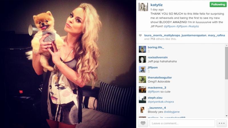 Katy Tiz Style Photo with Dog