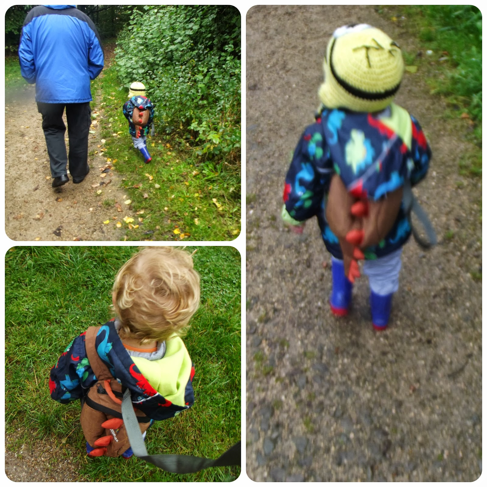Walking with Grandpa. My Mummys World ©