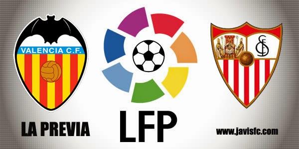 Previa Valencia CF Vs Sevilla FC