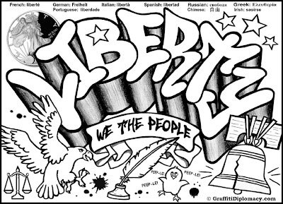 Free Printable Graffiti Coloring Pages