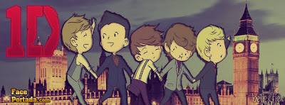 One direction comic portada in london