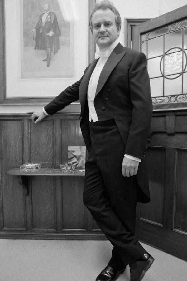 LORD CRAWLEY CON FRAC EN DOWNTON ABBEY