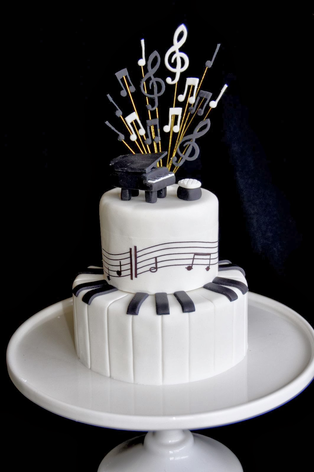 Birthday Cake Images For Musicians