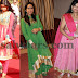 South Indian Celebrities Churidars