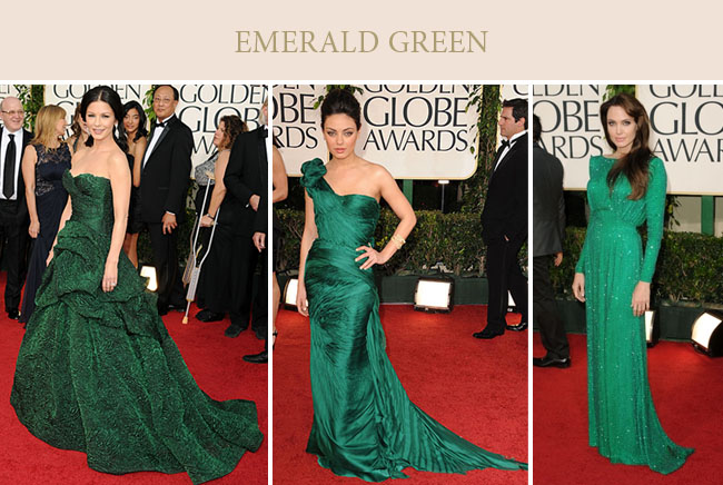 Bold and the beautiful pantone color of the year 2013 emerald green