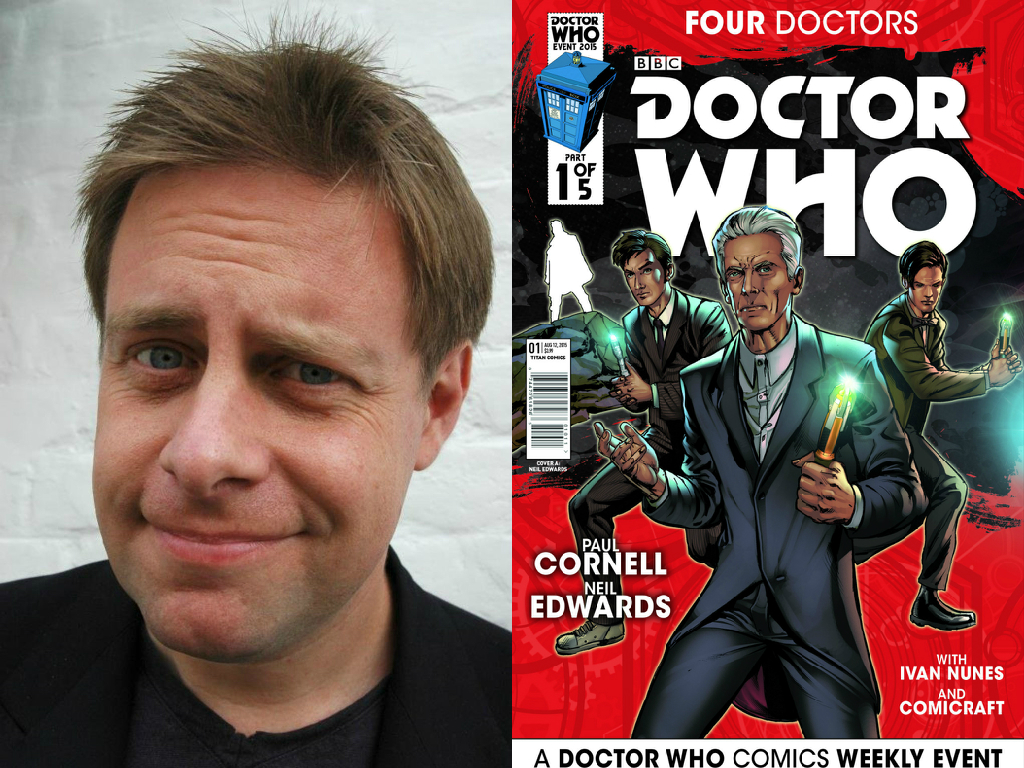 interview paul cornell writer of comics series doctor who four interview paul cornell writer of comics series doctor who four doctors talks to us