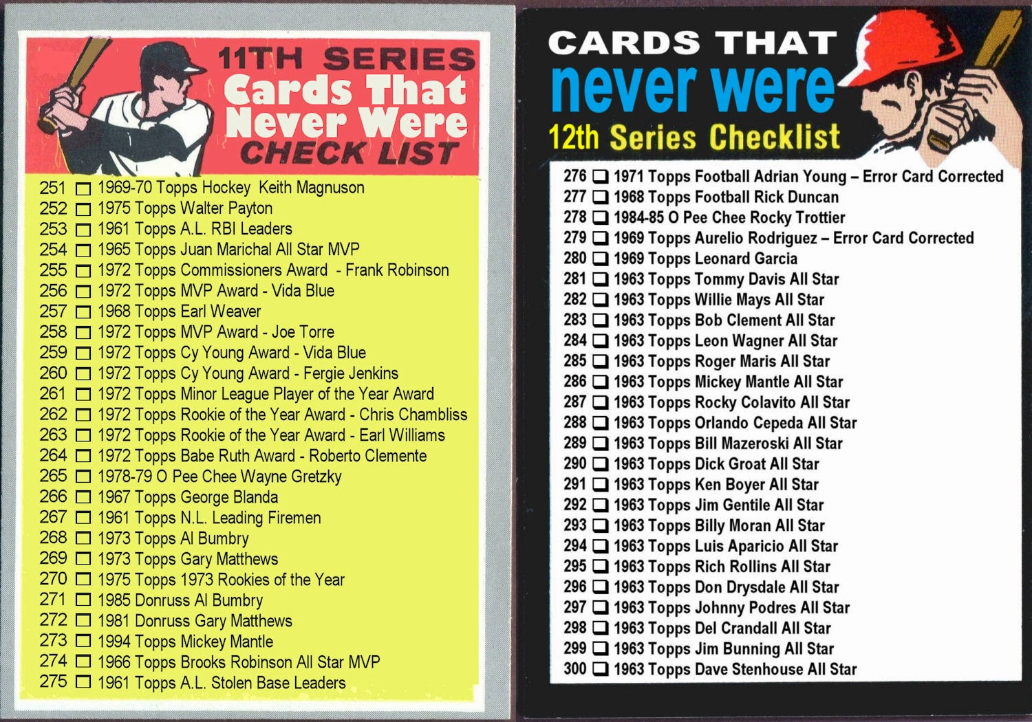 Cards 251-300