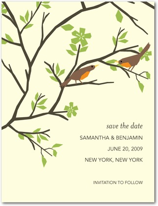 Nature Themed Wedding Stationery