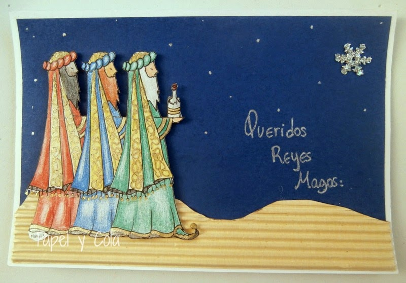 Queridos Reyes Magos - Papel y Cola