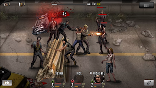 Game walking Dead Road to Survival