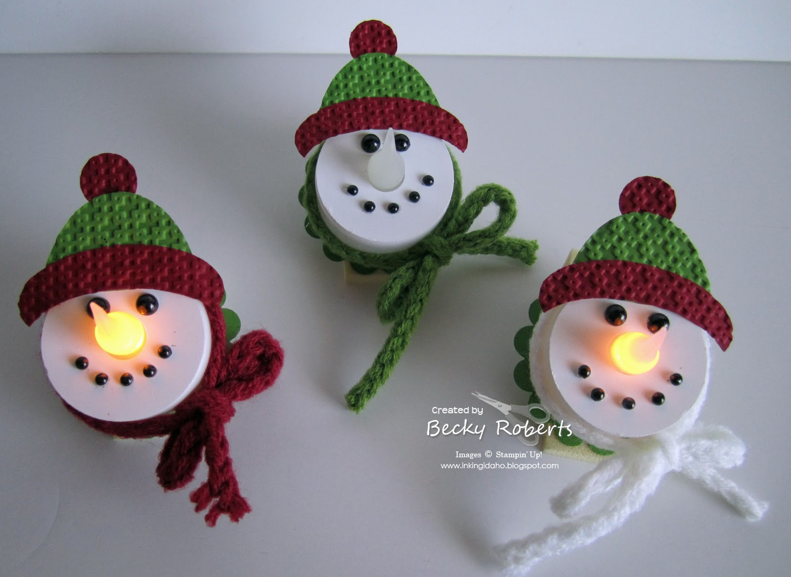 Awesome Snowman Tea Lights Amazing Design